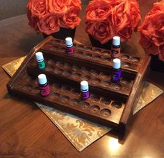 Essential oils rack / display essential oil shelf holds 57