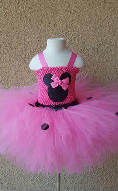 Minnie Mouse Tutu Dress - Tutu Dress: Ballerina Short