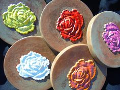 Check out Rose, Sculptured Rose Stone, Shipping Included, Handmade In The USA on mountainartcasting
