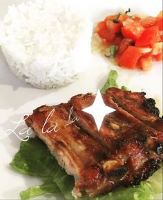 Food again food only fooood  #food #lovefood #foodgasm #pork #ilovefood #tomato #rice #ribs #salad #foodlovers #foodlife #yummy #miam #diner #bonappetit #diet #kitchen #cuisine #homemade #barbecue #athome #rougail #instafood #delicious #tasty #yummyfood #hungry #foodphotography #foopic #foodstyling by little_gabrielle_