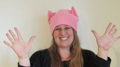 Pink Pussy Cat Hat March on Washington Equal by SafeOnEveryLevel