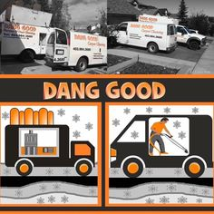 Winter is not yet over but we will be working whatever the weather. See dangoodclean.com for our $99.99 deals. Call 403-984-3680 to book.