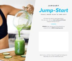 win $500 Shopping Spree Sign-Up Early For POPSUGAR's January Jump-Start Plan