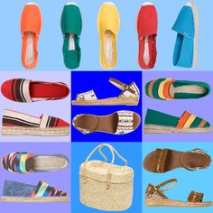 Hand made espadrilles from Spain at EspadrillesEtc