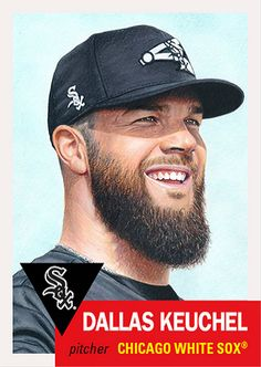 White Sox Baseball, Baseball Socks, Baseball Cards, Dallas Keuchel, Chicago White Sox, Mlb