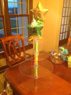 Cupcake holder used to hold veggies and banana pops