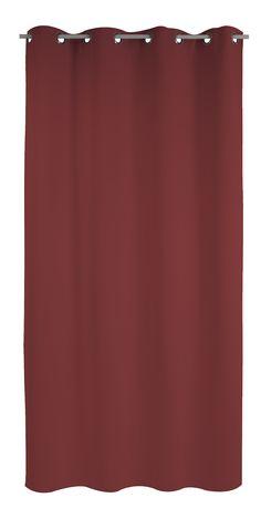 Rideau IGLOO, rideau thermique isolant froid (135x250) ou (100x220) existe en noir, écru, gris, taupe, chocolat, noir, rouge et prune