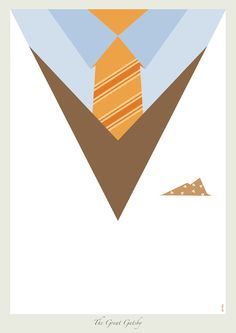 Dicaprio Suits Minimalist Posters by Zi Wei Tan