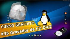 Curso de Linux Ubuntu - 61 - Como gravar arquivos iso CD/DVD k3b