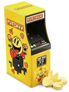 Pac-Man Arcade Cabinet Candy from Geekalerts.com