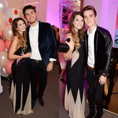 Zoe and her boy Alfie and her bro Joe at the Zoella beauty launch