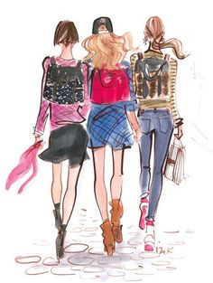 #henribendel #fashion #illustration #fashionillustration #backpack #accessories #izakzenou
