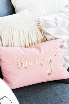 16 DIY Pillows to Update Your Spring Decor | Brit + Co