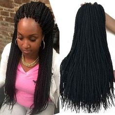 Shop the latest collection of 18 inch 8 Packs senegalese crochet braids Synthetic Crochet Braiding Hair black senegalese twist hair from the most popular stores - all in one place. Similar products are available. Box Braids Hairstyles, Senegalese Twist Hairstyles, Try On Hairstyles, Black Women Hairstyles, Crochet Twist Hairstyles, 1930s Hairstyles, Ladies Hairstyles, Teenage Hairstyles, Medium Hairstyles