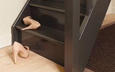 De trap verven met Durosatin zijdeglanzende lak - colora