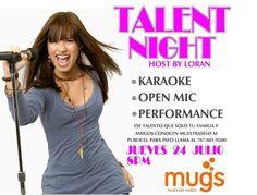 Talent Night @ Mugs, Hatillo #sondeaquipr #talentnight #mugs #hatillo