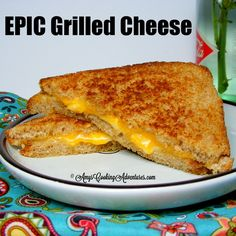 Amy's Cooking Adventures: Epic Grilled Cheese: SRC
