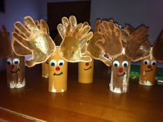 Bricolage orange and no l on pinterest - Bricolage sapin de noel en papier ...