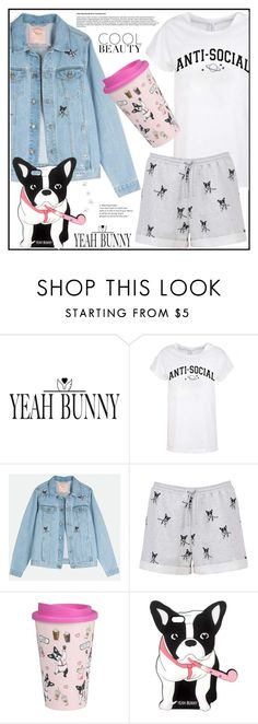 """Casual style"" by boky-d ❤ liked on Polyvore featuring Yeah Bunny, denim, casualoutfit and dog"