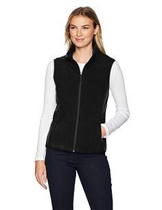 5bb0fc81 Amazon Essentials, Hooded Jacket, Vest Jacket, Polar Fleece, Fleece Vest,  Coats For Women, Navy, Womens Fashion, Jackets