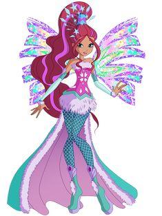 Aisha Crystal Sirenix by Winx-Rainbow-Love on DeviantArt My Little Pony Characters, Mlp My Little Pony, Cartoon Characters, Twilight Equestria Girl, Ariana Grande Drawings, Bloom Winx Club, Barbie Images, Fairy Coloring, Cartoon Pics