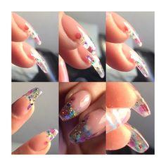 #gel #encapsulated #nails