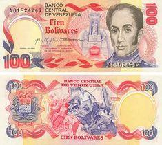 100 Bolívares - Venezuela anteriormente con esto comprabas un montón, ahora, solo  un caramelo...