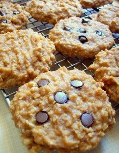 HEALTHY breakfast cookies recipe! So easy, too! Make a batch and you won't have to cook breakfast for days!