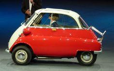 Microcoches, los más raros del mundo • BMW ISETTA • El más conocido y exitoso de todos los aquí presentes. Permitió a BMW florecer y obtener ingresos para empezar lo que es ahora, toda una marca Premium