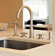Смесители и душевые системы Horus: Кухонные смесители #hogart_art #interiordesign #design #apartment #house #bathroom #horus #faucet
