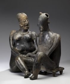 Conjoined Man and Woman (Curing Ritual Narrative) Jalisco  100 BC-AD 300
