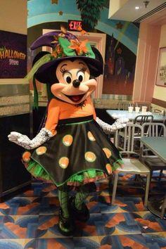 VIDEO: Minnie's Halloween Dine dinner at Disney's Hollywood Studios Mickey Mouse Toys, Disney Mouse, Minnie Mouse, Disney Halloween, Halloween Themes, Princesa Peach, Daisy Duck, Character Costumes, Hollywood Studios