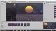 In this video on creating a Synthwave skybox, we show you how to import your skybox into Unity 3D. Be sure to check out my other tutorial on how to create a skybox. This tutorial is perfect for anyone looking to create their own skybox to import into Unity 3D. Vido Games, Unity 3d, Game Design, Cyberpunk, Game Art, How To Become, Digital Art, Photoshop, Create