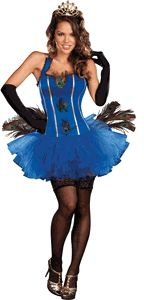 ROYAL PEACOCK ADULT COSTUME