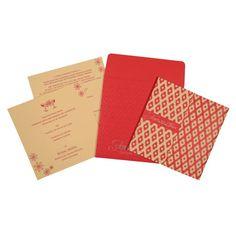 Hindu Wedding Cards - W-8263E