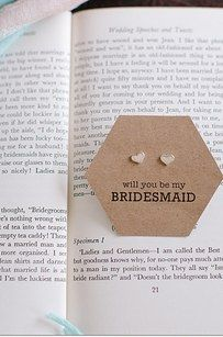 DIY some earrings and get this free printable to hold them.
