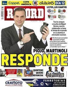 México - RÉCORD 22 de junio del 2015
