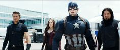 Go! Team Cap!!! HAS ANYONE NOTICED THAT BUCKY'S UNIFORM IS SIMILAR TO HIS HOWLING COMMANDOES ATTIRE??????!!!!!! (: