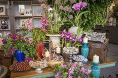 Decoração de casamento no campo - mesa de doces - boho rústico chic ( Decoração: Tais Puntel   Foto: Anna Quast e Ricky Arruda )