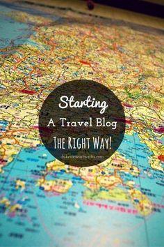 Starting a Travel Blog by DukeStewartWrites.com