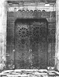 Museum of Turkish and Islamic Arts: The Door of Great Mosque in Cizre