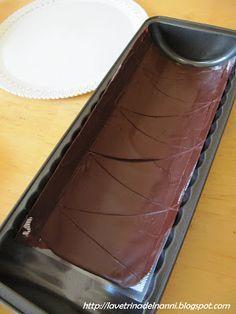 """La vetrina del Nanni: Torta """"alla parigina"""" con cioccolato"""