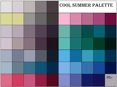 summer color palette - color me beautiful | ... her that shows her looking stunningly beautiful, with minimal makeup