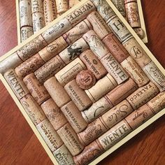 Recycled Wine Cork Trivets Just Don't Use Synthetic Corks in a trivet! Set Of 2 Wine Cork Crafts Diy Wine Cork Coasters Wine Cork Wreath, Wine Cork Ornaments, Wine Cork Art, Wine Cork Boards, Wine Cork Table, Snowman Ornaments, Wine Craft, Wine Cork Crafts, Wine Bottle Crafts