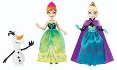 Disney Frozen Sisters MagiClip Gift Set - Anna & Elsa Figures You get three of your favourite Frozen characters in the Royal Sisters Gift Set. Anna, Elsa and Olaf the Snowman are yours. Film Frozen, Frozen Disney, Elsa Frozen, Frozen Princess, Princess Anna, Walt Disney, Princess Party, Anna Et Elsa, Elsa Olaf