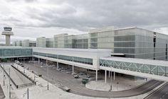Terminal 1 de l'aeroport de Barcelona de Ricardo Bofill.