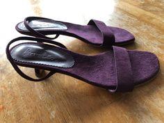 51fcaa29 Boden purple suede slingback Kitten Heel shoes - Kitten Heels from Ebay UK  - #KittenHeels