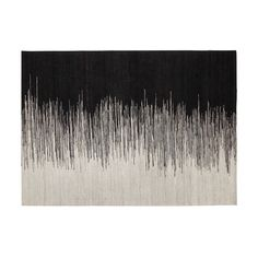 Tapis tissé 140x200cm Noir et Blanc - Appache - Les tapis - Textiles et tapis - Salon et salle à manger - Décoration d'intérieur - Alinéa Textiles, Home Living Room, Decoration, Rugs On Carpet, Inspiration, David, Home Decor, Interior Design, Rugs