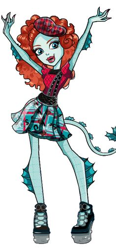 All about Monster High: Lorna McNessie