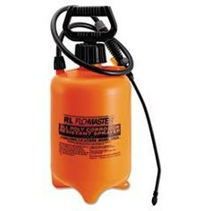 Rlf 1992A 2 Gallon AcidResistant Sprayer Wand With Nozzle Orange  Black -- To view further for this item, visit the image link.